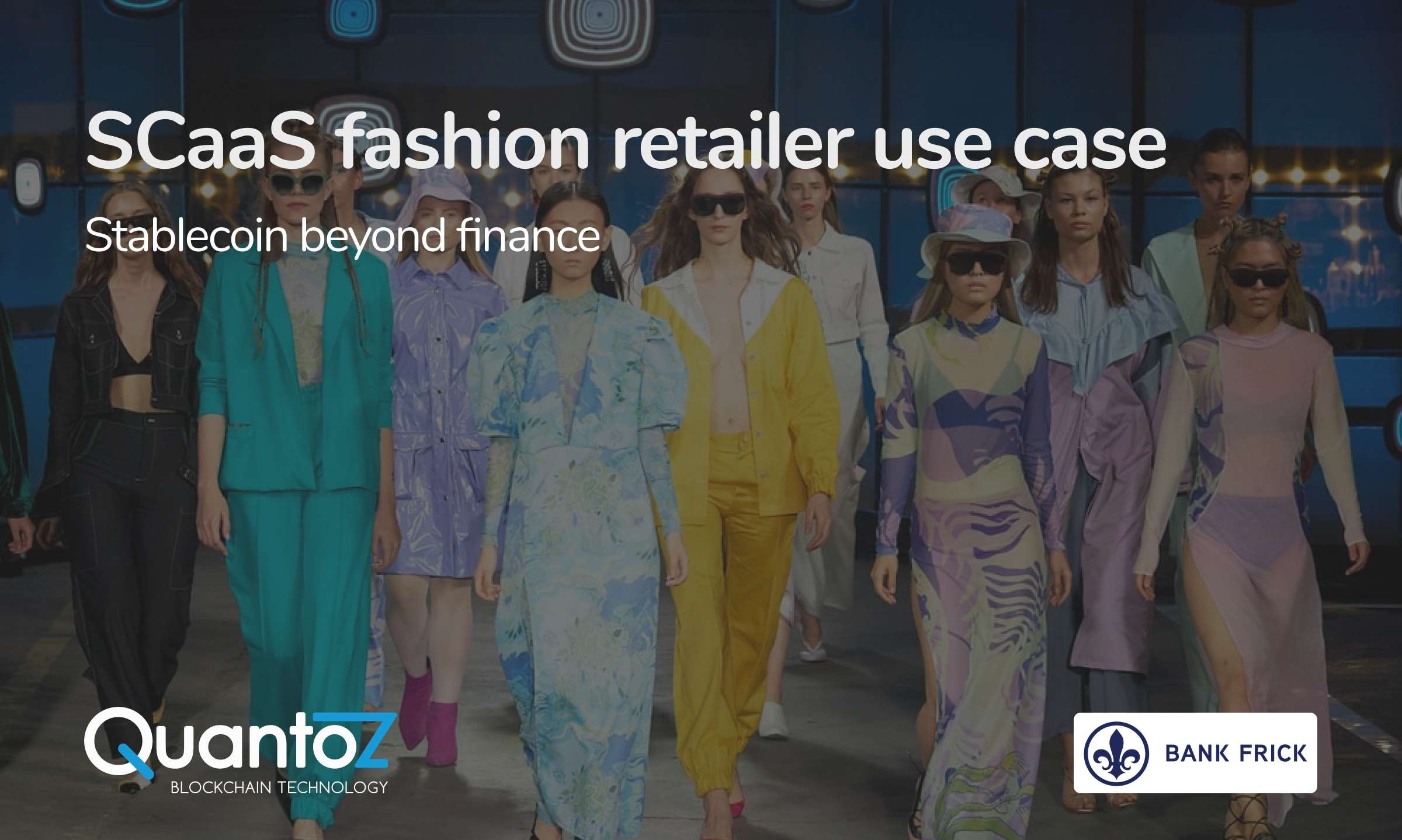 Stablecoins for fashion retailers