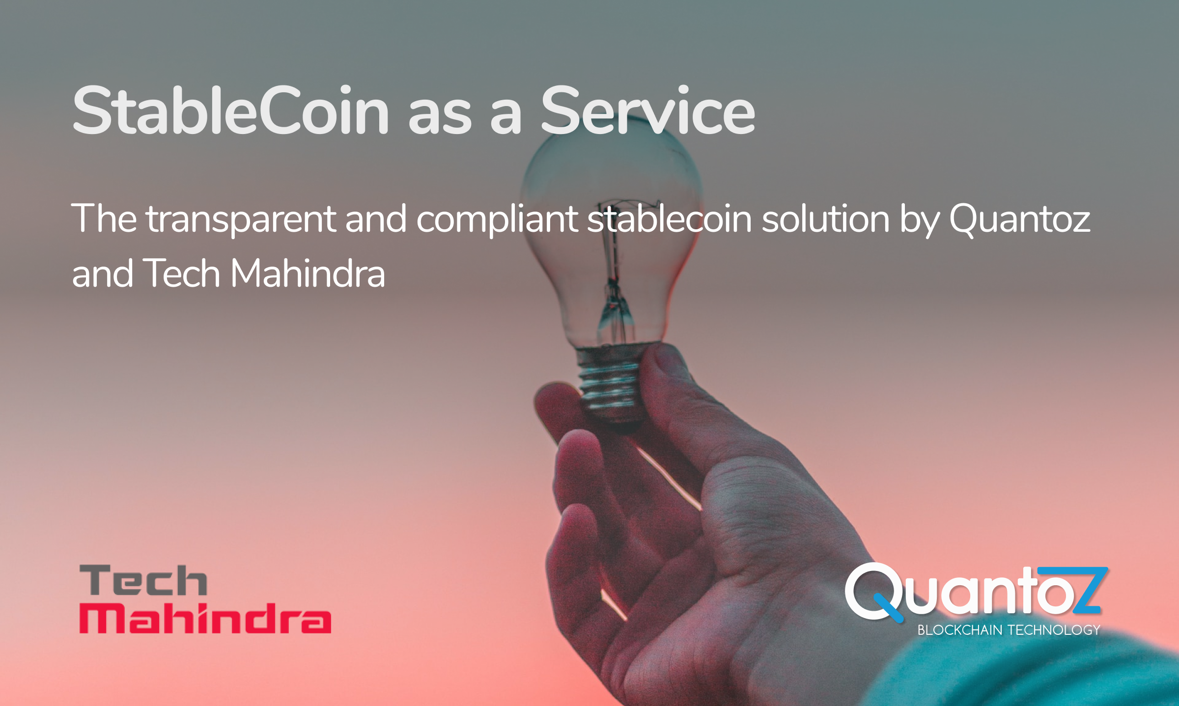 Stablecoin Tech Mahindra blog post