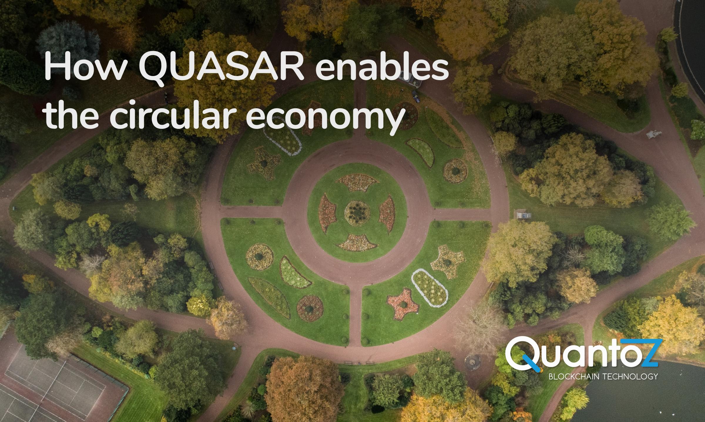 QUASAR circular economy post